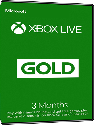 Xbox Live Gold - l'Abonnement de 3 mois [EU] Screenshot