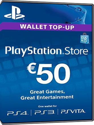 Carte Playstation Network 50 euros [FR] Screenshot