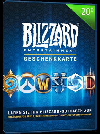 Carte Cadeau Blizzard.Carte Cadeau Battle Net 20 Eur