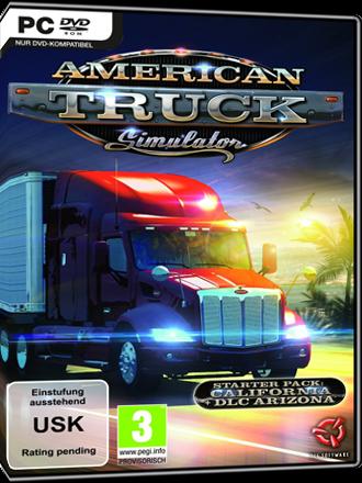acheter american truck simulator ats game key mmoga. Black Bedroom Furniture Sets. Home Design Ideas