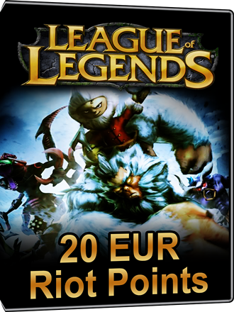 League of Legends - Riot Points Card 20 EUR Screenshot