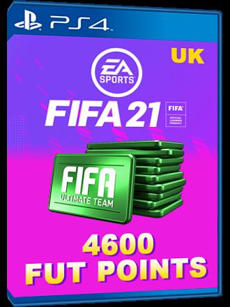 FIFA 21 4600 FUT Points PS4 / PS5, Royaume-Uni - MMOGA