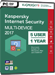 Kaspersky Internet Security Multi-Device 2017 (5 postes / 1 an)