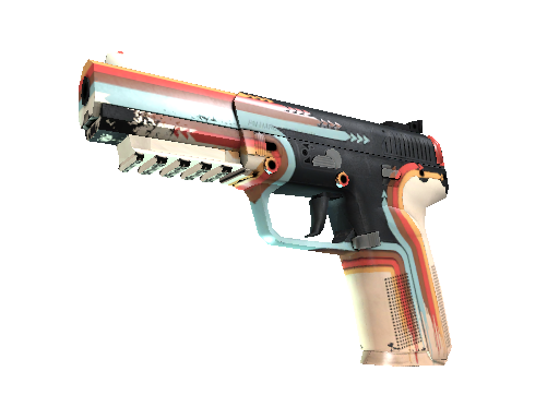 Five-SeveN (StatTrak™) | Retrobution (Usée)