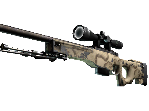 AWP | Camouflage serpent (Usée)