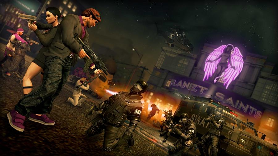 Saints Row The Third (Saints Row 3) Screenshot 3