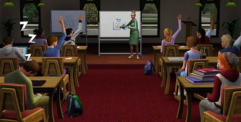 Les Sims 3 - University (pack d'extension) Screenshot 1