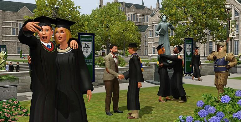 Les Sims 3 - University (pack d'extension) Screenshot 5