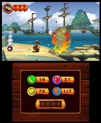 Donkey Kong Country Returns - 3DS Screenshot 6