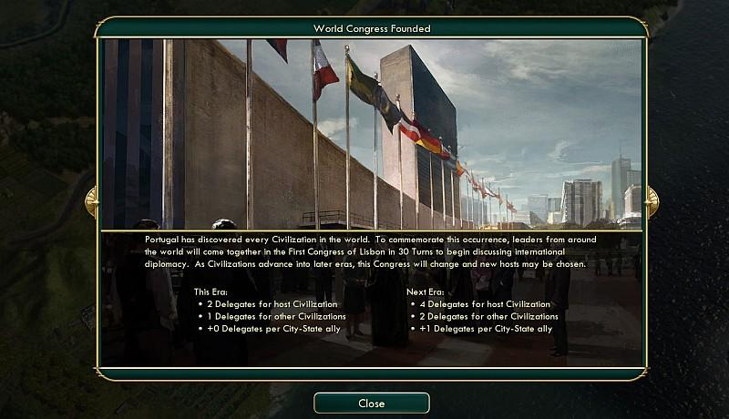 Civilization V (5) - Brave New World (extension) Screenshot 3