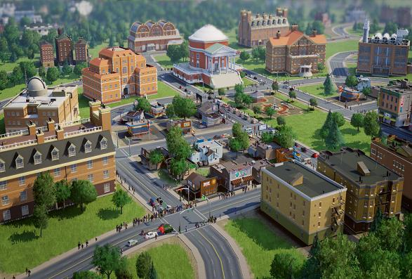 SimCity + l'extension Villes de demain Screenshot 1