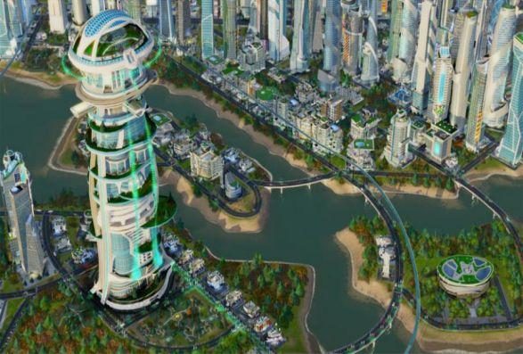 SimCity + l'extension Villes de demain Screenshot 5