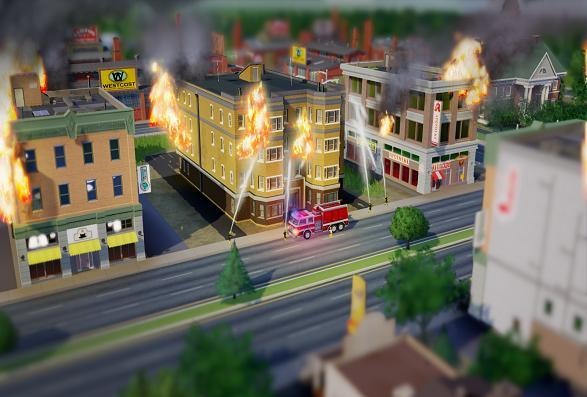 SimCity + l'extension Villes de demain Screenshot 3