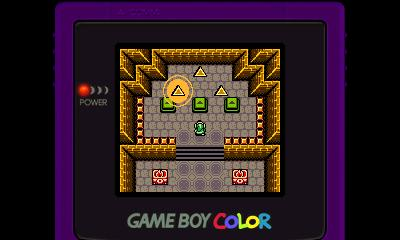 Legend of Zelda - Oracle of Ages (GBC) - 3DS Screenshot 4