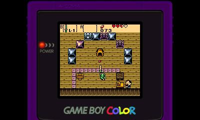 Legend of Zelda - Oracle of Ages (GBC) - 3DS Screenshot 7