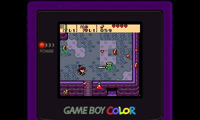 Legend of Zelda - Oracle of Ages (GBC) - 3DS Screenshot 3
