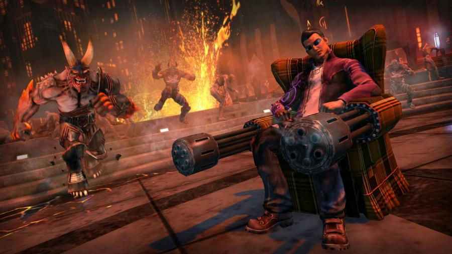 Saints Row - Gat Out of Hell Screenshot 1