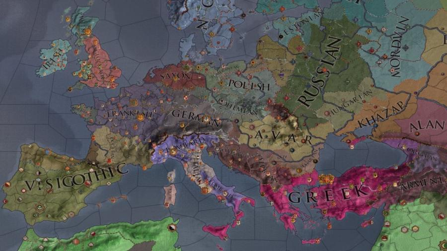 Crusader Kings II - Charlemagne (extension) Screenshot 5