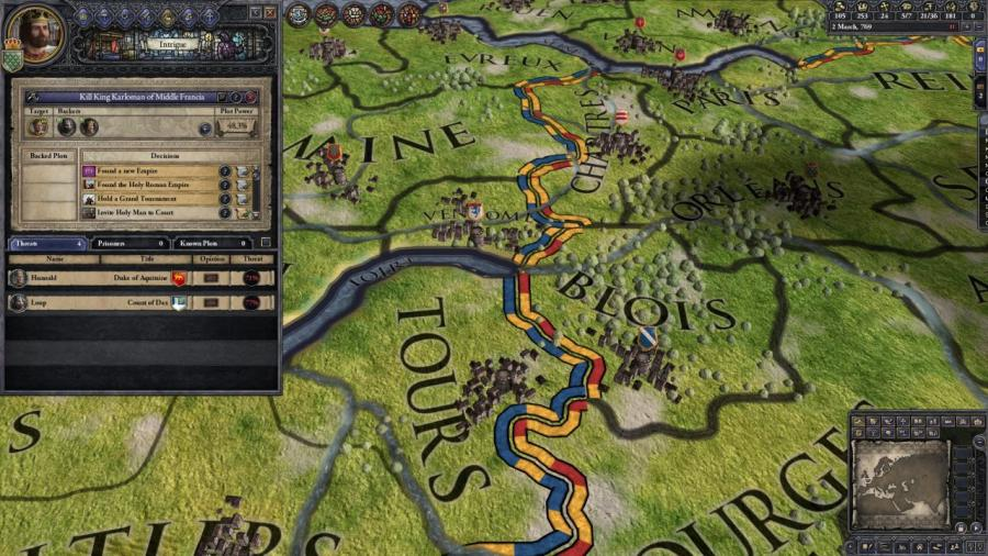 Crusader Kings II - Charlemagne (extension) Screenshot 7