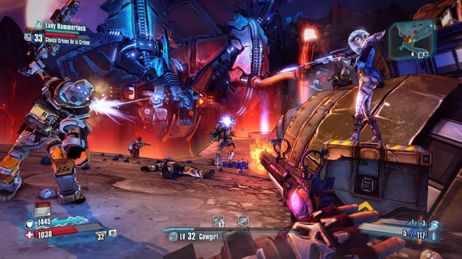 Borderlands The Pre-Sequel - Lady Hammerlock The Baroness Pack Screenshot 2