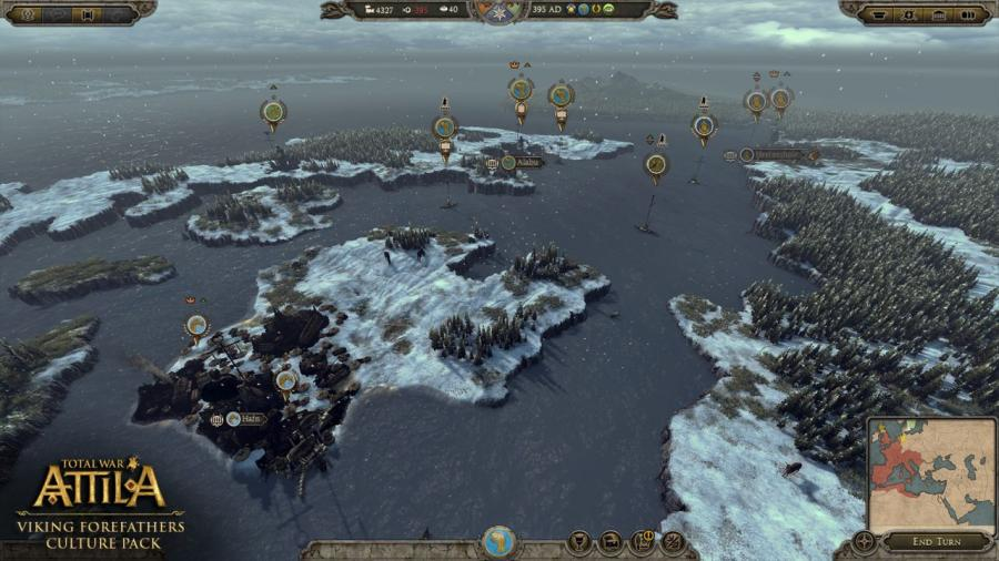 Total War Attila - Viking Forefathers Culture Pack (DLC) Screenshot 3