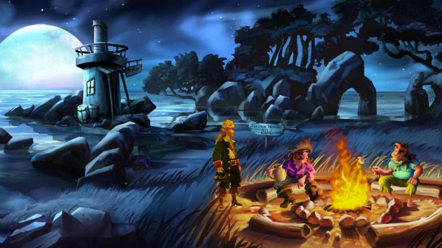 Monkey Island 2 - Special Edition Screenshot 1
