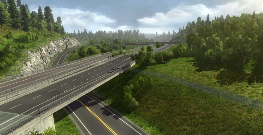 Euro Truck Simulator 2 - Scandinavia (extension) Screenshot 6