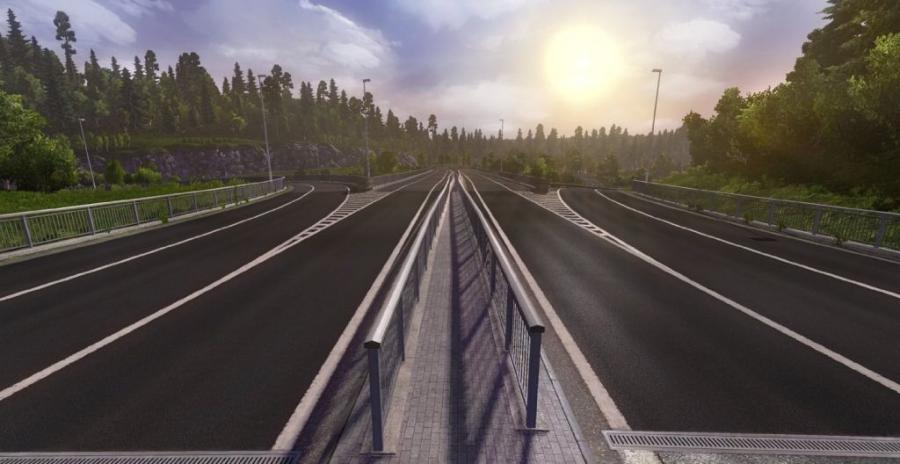 Euro Truck Simulator 2 - Scandinavia (extension) Screenshot 4