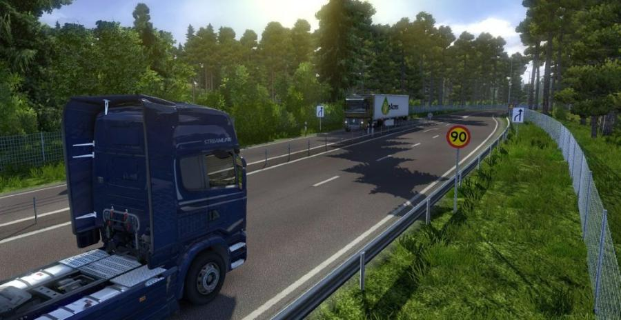 Euro Truck Simulator 2 - Scandinavia (extension) Screenshot 1