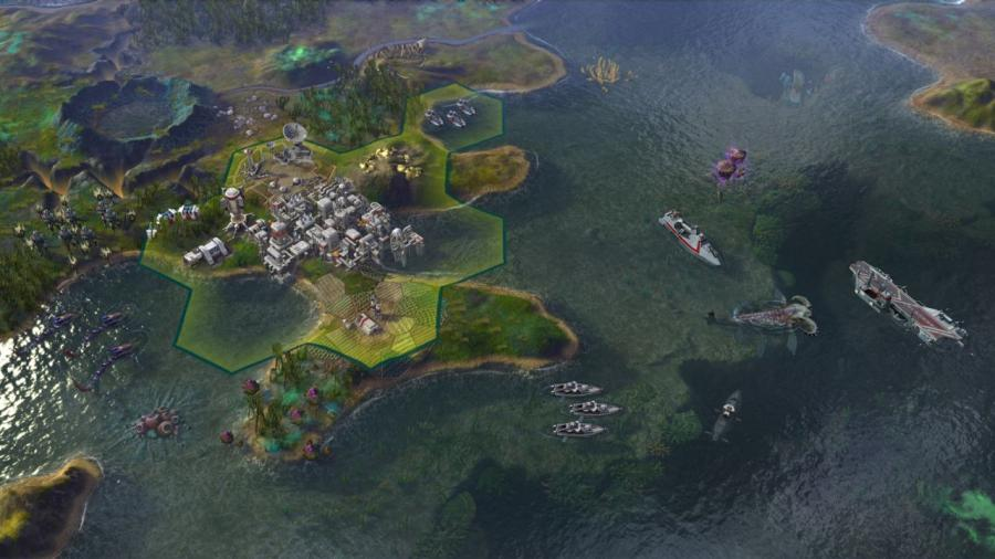 Civilization Beyond Earth - Rising Tide (extension) Screenshot 3