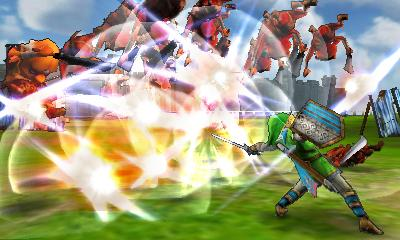 Hyrule Warriors Legends - 3DS Screenshot 1