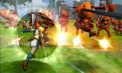 Hyrule Warriors Legends - 3DS Screenshot 6