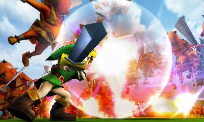 Hyrule Warriors Legends - 3DS Screenshot 8