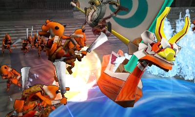 Hyrule Warriors Legends - 3DS Screenshot 2