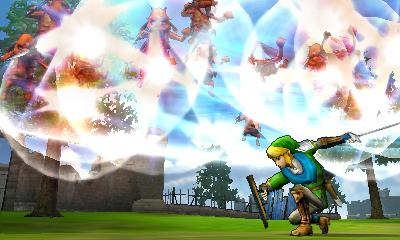 Hyrule Warriors Legends - 3DS Screenshot 3