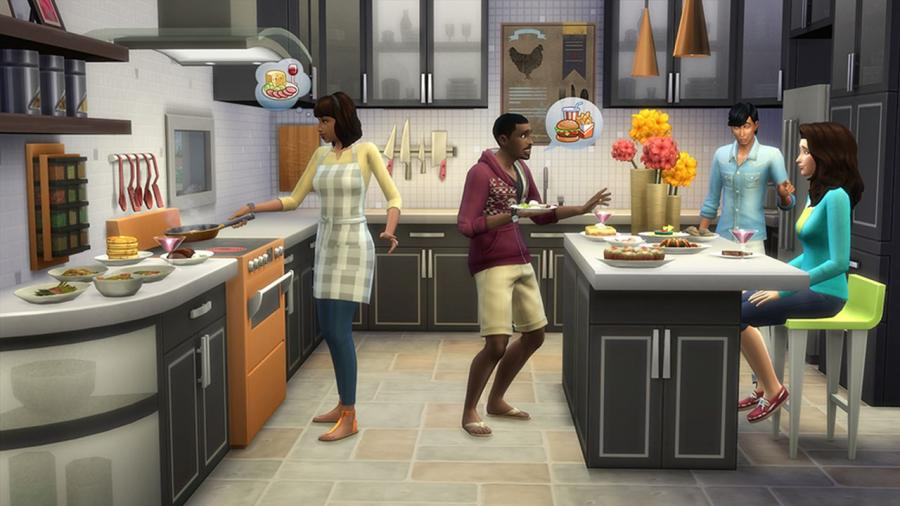 The Sims 4 - Outdoor Retreat + Cool Kitchen Stuff + Spooky Stuff Bundle Screenshot 4