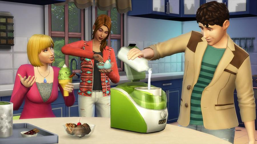 The Sims 4 - Outdoor Retreat + Cool Kitchen Stuff + Spooky Stuff Bundle Screenshot 8