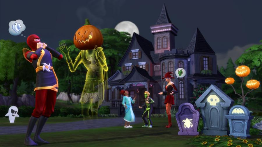 The Sims 4 - Outdoor Retreat + Cool Kitchen Stuff + Spooky Stuff Bundle Screenshot 5
