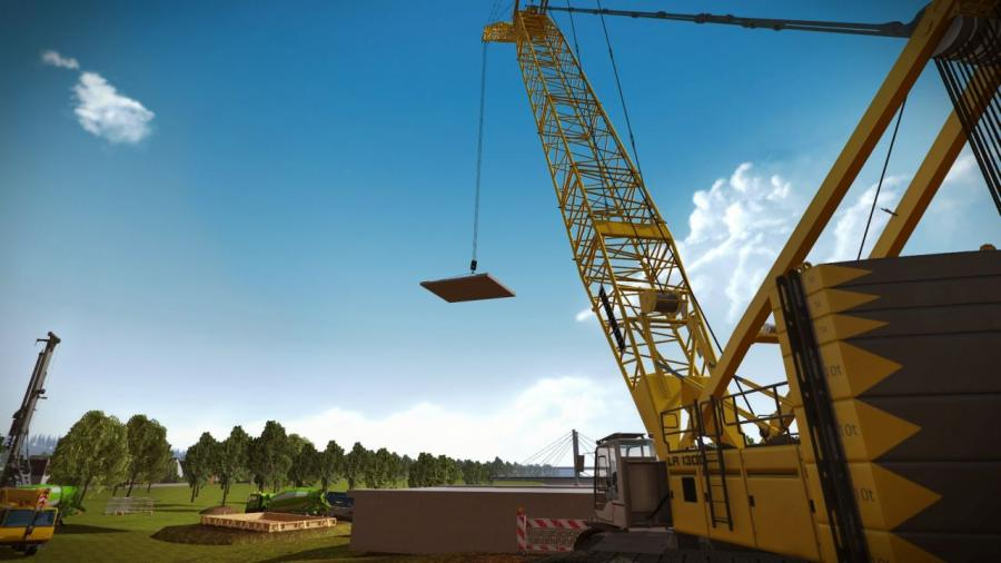 Construction Simulator 2015 - Liebherr LR 1300 DLC Screenshot 7