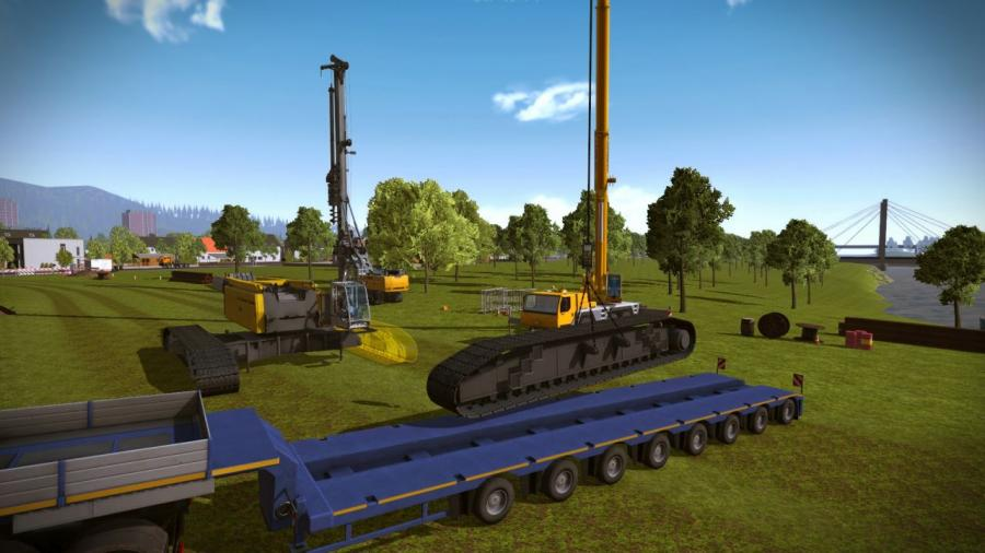 Construction Simulator 2015 - Liebherr LR 1300 DLC Screenshot 4