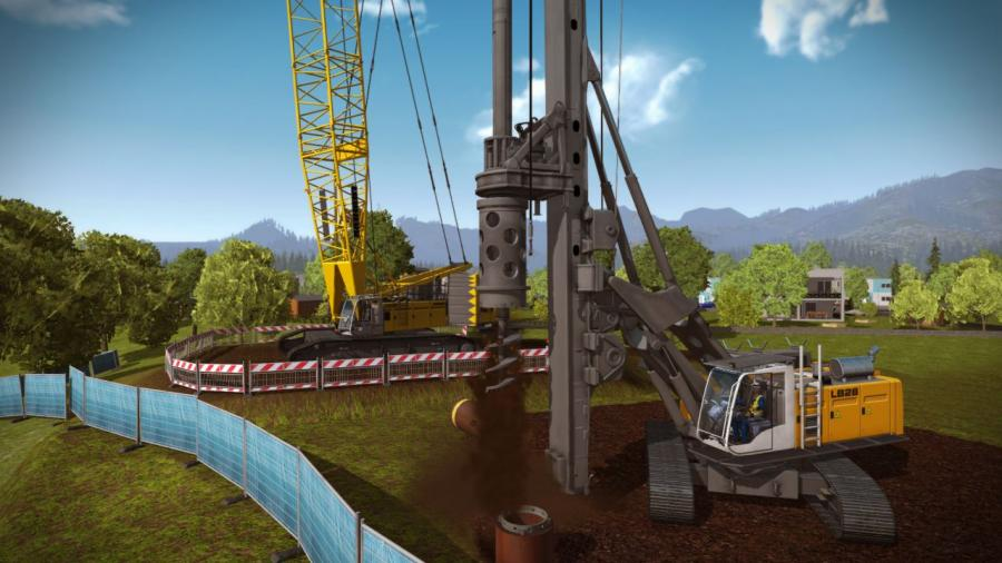 Construction Simulator 2015 - Liebherr LR 1300 DLC Screenshot 1