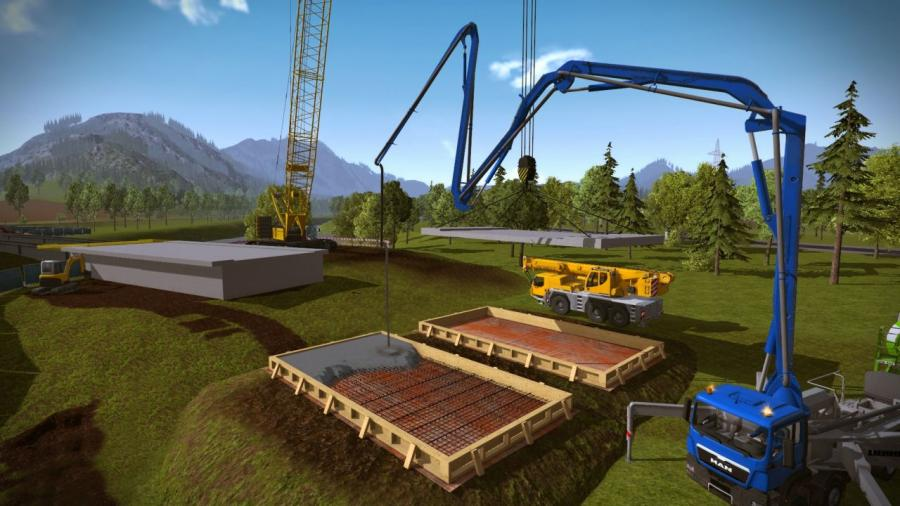 Construction Simulator 2015 - Liebherr LR 1300 DLC Screenshot 5