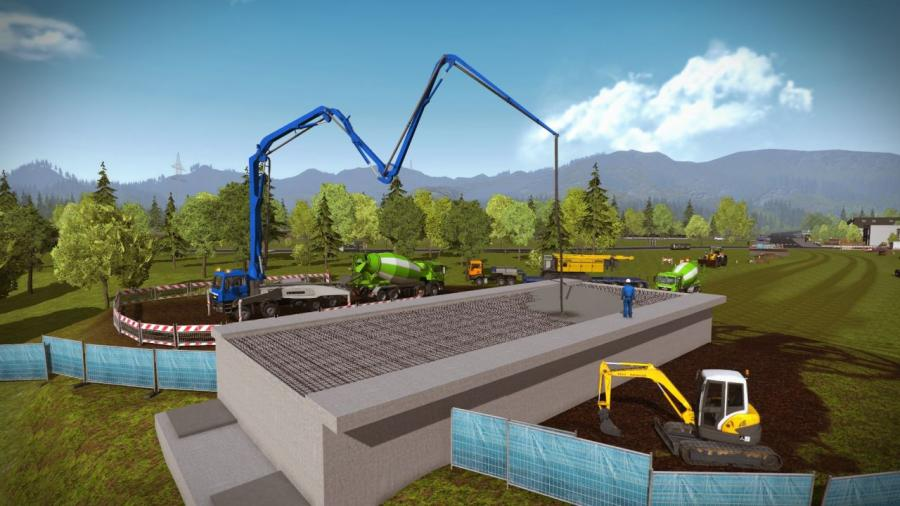 Construction Simulator 2015 - Liebherr LR 1300 DLC Screenshot 2