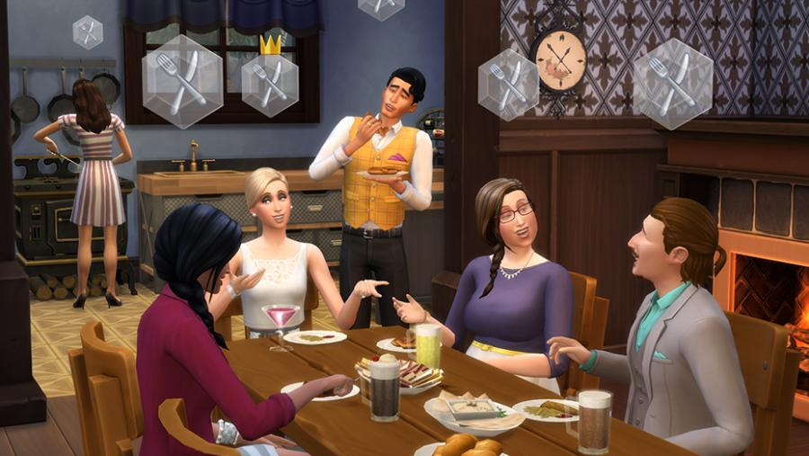 Les Sims 4  - Vivre Ensemble (Get Together) extension Screenshot 4