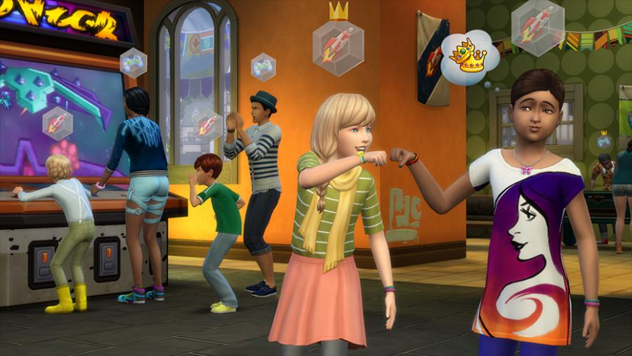 Les Sims 4  - Vivre Ensemble (Get Together) extension Screenshot 2