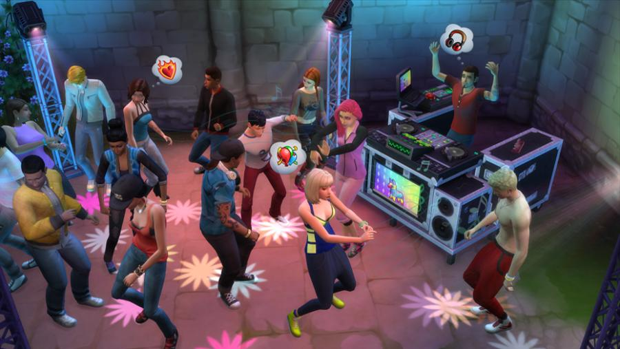 Les Sims 4  - Vivre Ensemble (Get Together) extension Screenshot 3