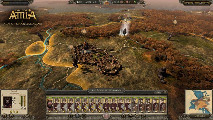 Total War Attila - Age of Charlemagne DLC Screenshot 8
