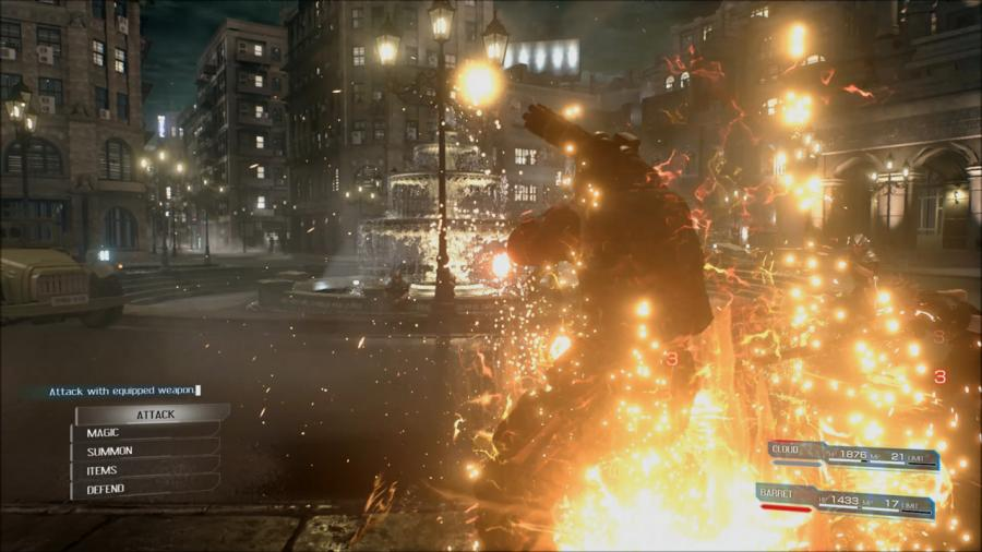 Final Fantasy VII Remake Screenshot 1
