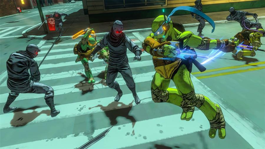 Teenage Mutant Ninja Turtles - Mutants in Manhattan - Déblocage de compte Xbox One Screenshot 2
