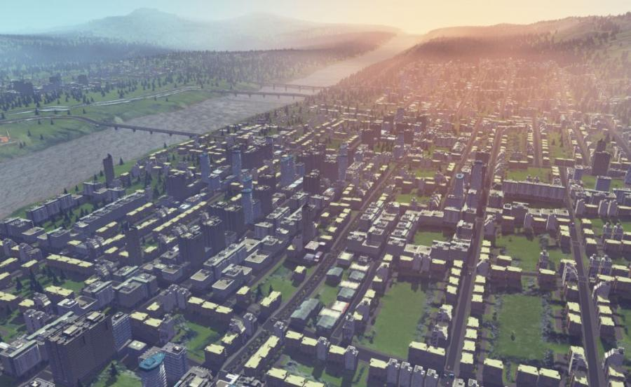 Cities Skylines - Deluxe Edition (Steam Gift Key) Screenshot 1